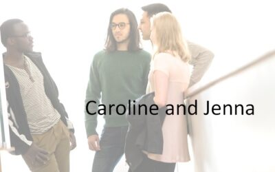 Meet our students – Caroline and Jenna